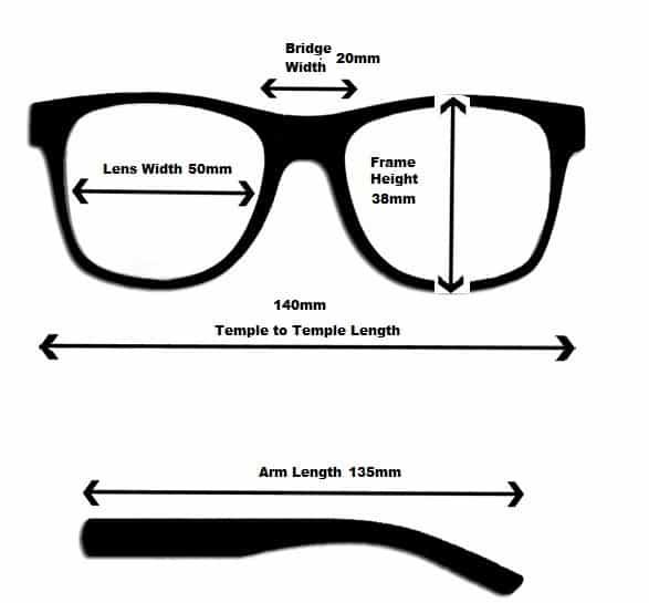 af46cf7d31bb Wayfarer Extra Strength Reading Glasses for Poor Eyesight